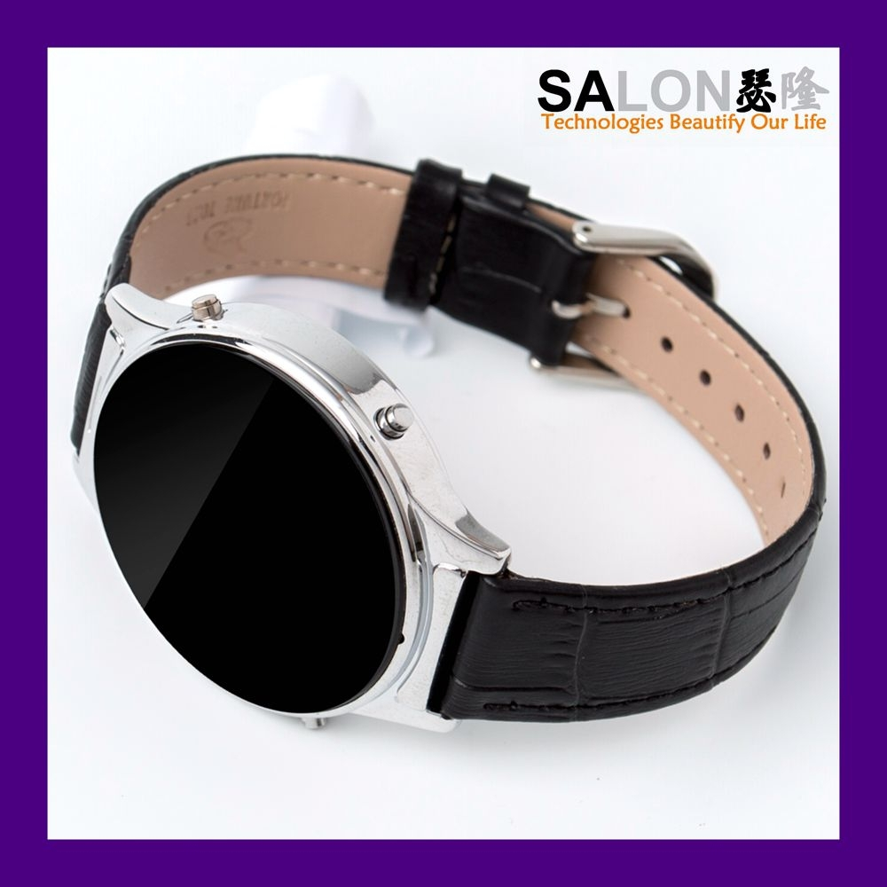 2015 round latest wrist watch mobile <strong>phone</strong>, alibaba china supplier factory bluetooth smart watch