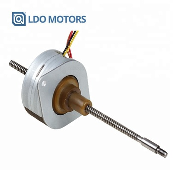 35mm PM Linear Stepper Motor, Non Captive, Step Angle 7.5 or 15 Degree