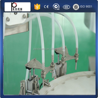 Multifunctional ejuice liquid filling line cigarette oil filling and capping machine packing machine with PLC controlled