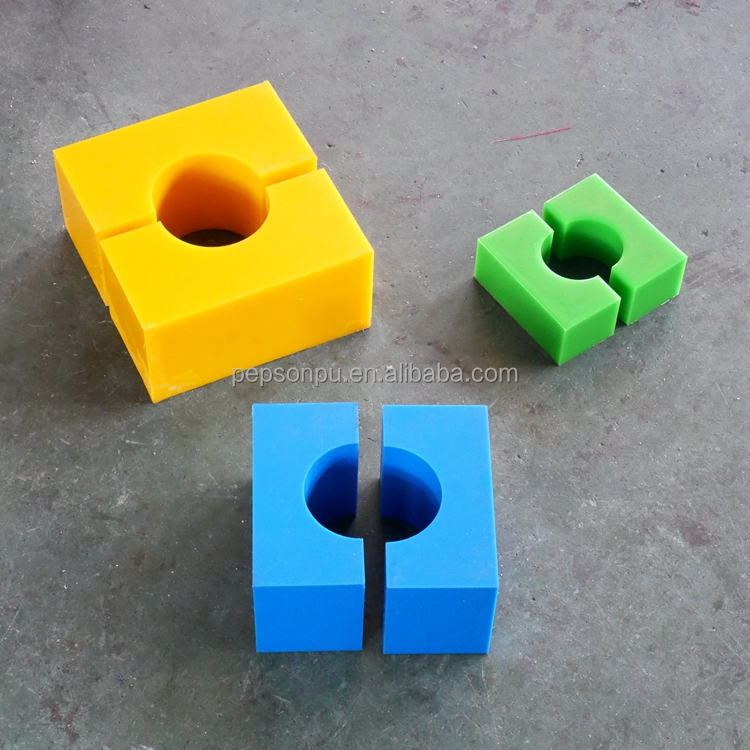 Custom Cast Urethane PU Polyurethane Cubes For Drilling Equipment