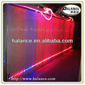 Multicolor curtain fiber optic lighting for decorative, LED optical fibre lights