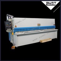 cnc sheet iron metal stainless steel cutting machine shear plate machinery used for hydraulic shearing guillotine cutter