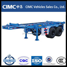 CIMC 2 axle 40ft Skeleton Container Trailer Chassis