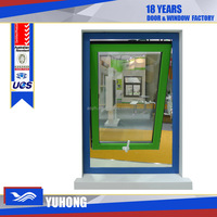 Horizontal swing sash windows aluminum awning window