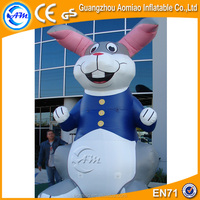 Outdoor inflatable easter bunny, inflatable yard decoration