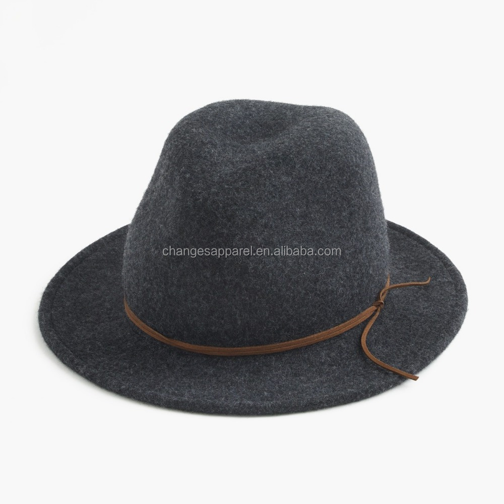 China Supplier Wool Felt Winter Fedora Women's Hat Wholesale