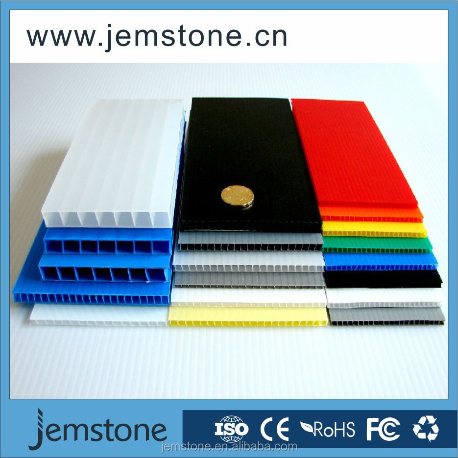 whole pp corrugated layer pad/pp corrugated hollow sheet
