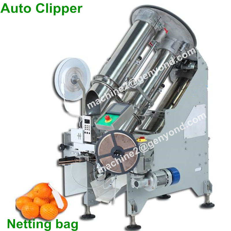 Industry Netting  Tomatoes Auto Clipping Machine