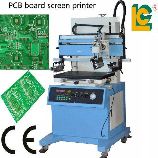 Digital T Shirt Pcb Flat Plane Screen Printing Machine For
