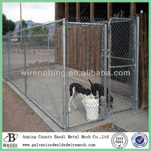 hot-dipped galvanized dog proof chain link fence