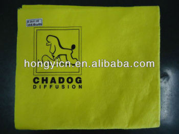Super water absorption nonwoven pet drying cloth, pet drying towels (HY-W4204)