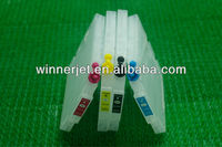 Refillable ink cartridge/sublimation ink/reset chip for Ricoh Gc21 printer