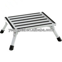 metal adjustable step stool