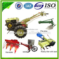 Rotary Tiller Gearbox 8-15hp diesel Top quality cultivator power tiller with power tool