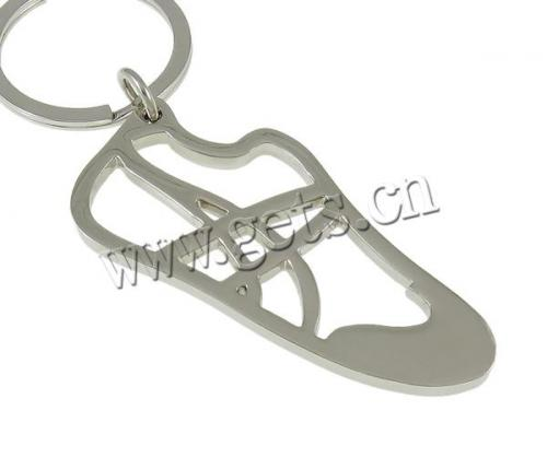 Wholesale Stainless Steel Key Chain iron ring Shoes Other Shape Dubai Metal Key Ring 747517