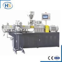 TPU TPR granules making machine twin screw extruder for pp pe pvc supplier
