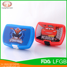 New product 2017 lunch box plastic oem of OEM