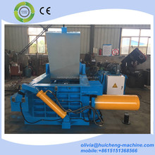 Hot sale baling machine hydraulic scrap metal baling press machine/used aluminum balers/oil tank compress machine