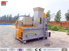 rice hulls powder hydraulic power stressing sack and bale machinery