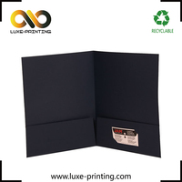 A3 size customized design paper packaging file presentation folder