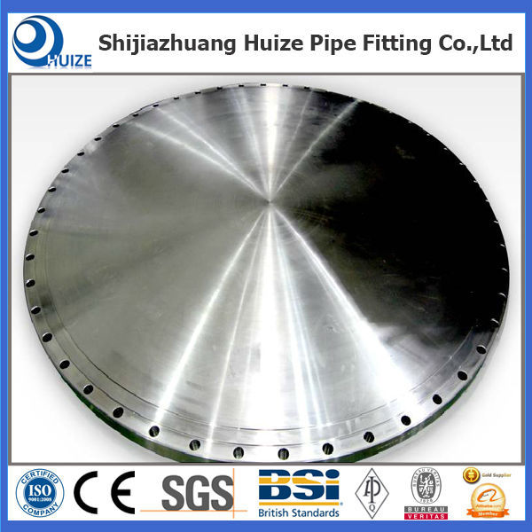 ASME B16.5 Forged Steel Blind Flanges Class 150 to 2500 lbs