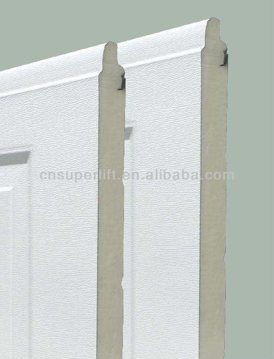 Barato aislado acero galvanizado puerta de garaje - Puerta de acero galvanizado ...