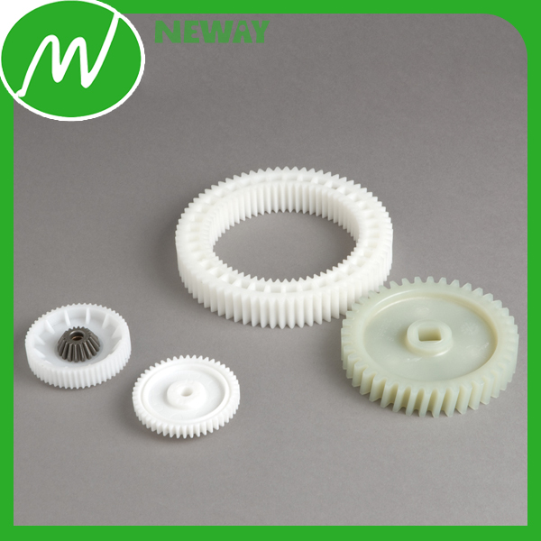 Customzied Nylon Plastic Double Spur Gear