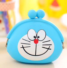 small bag key bag cartoon female mini wallet silicone coin bag