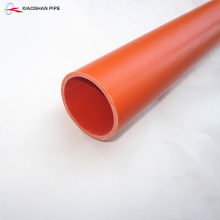 Easy installation heat resistant 20mm diameter pvc electrical conduit pipe for wire protection