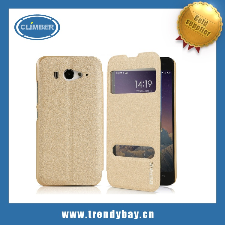 High Quality BEPAK brand stand flip pu leather case for xiaomi mi2s