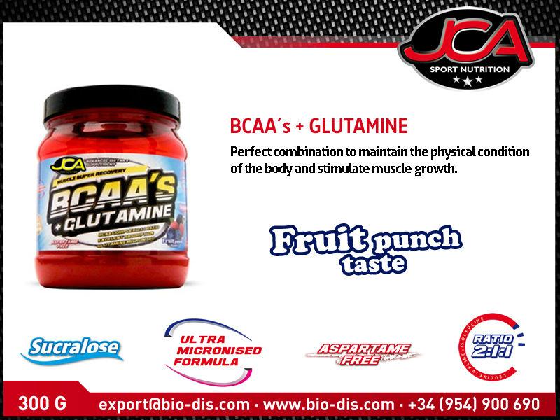 Bcaa + Glutamine 300g - Sport Supplement