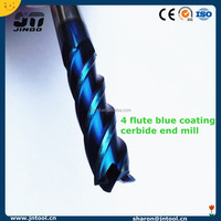 Factory Price Manufacturer CNC Carbide Square End Mill Milling Tools Keyway End Mill