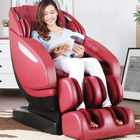 Full Body Kneading Massage Recliner Chair With Roller Ball