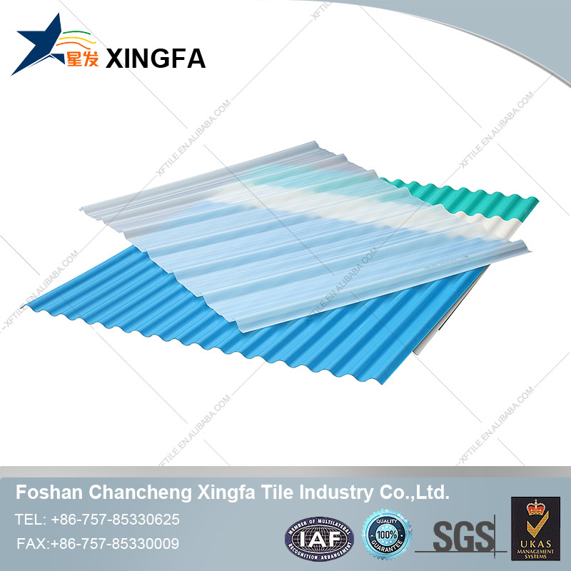 Building Materials PVC Hard Plastic Transparent Roof Sheet With Waterproof Performance