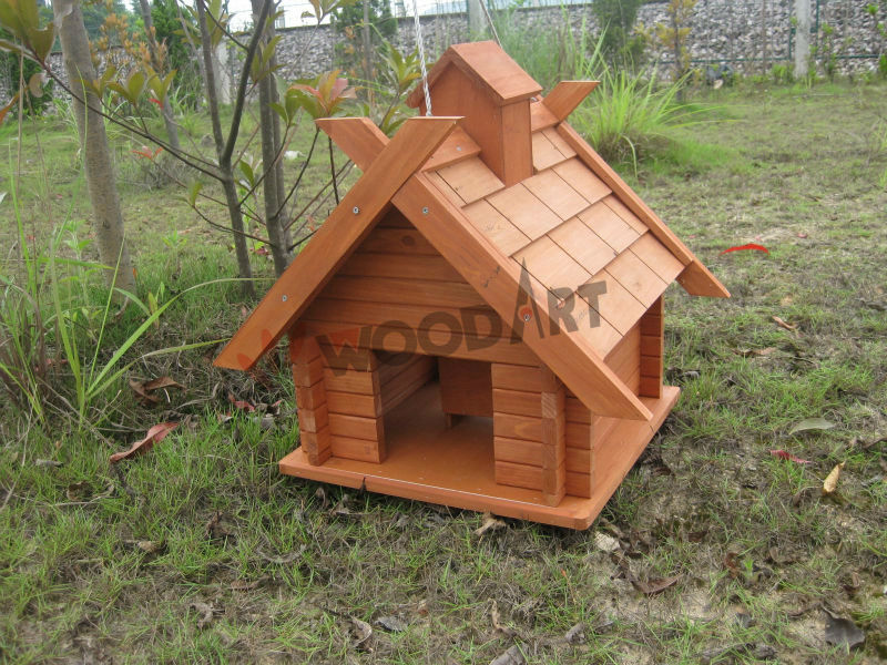 Wild stand wooden pigeon feeder pigeons birds bird feeder