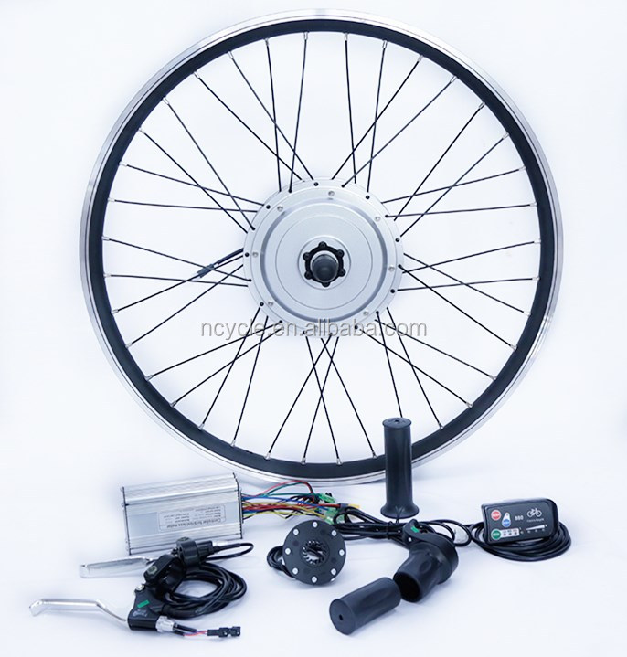 36v 800w Front Wheel Brushless and Gearless motor Electric Bike Kit