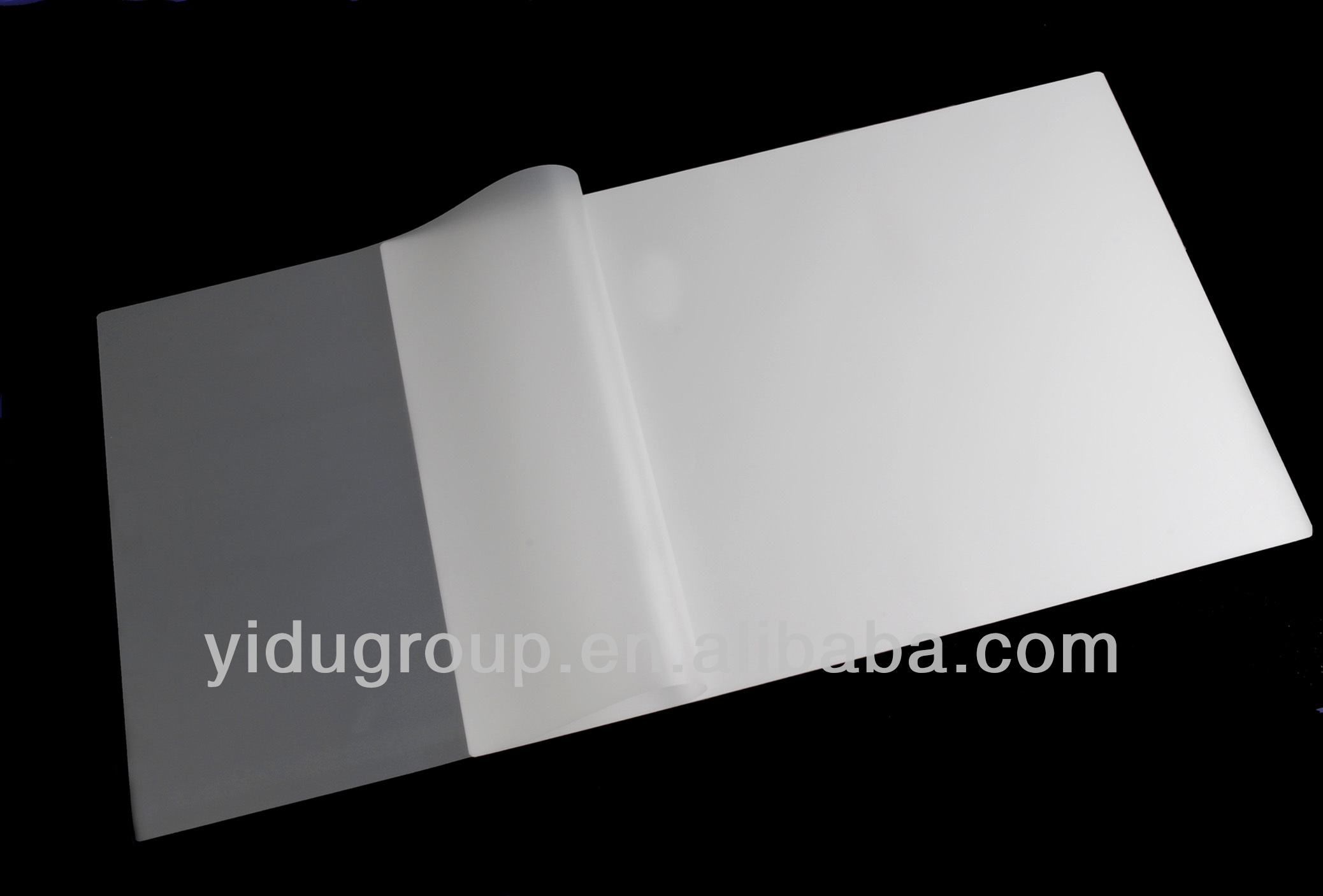 238*315mm size sticky back laminating film from guangdong,china