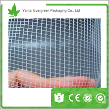 Plastic anti hail and insect net mesh plant cover