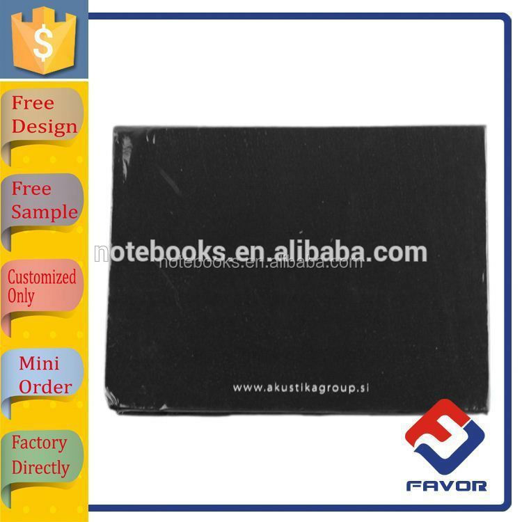 cheap price stylish designed memo pad for advertising stationery gift