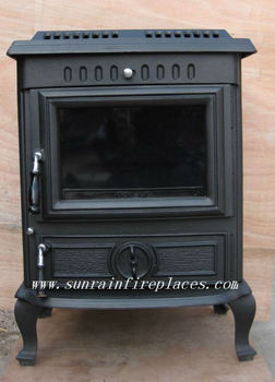 cast iron stove with boiler(JA046LB)