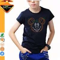 OEM teenager printed t shirt for children