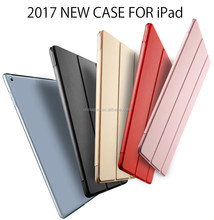 Anti-water Smart Magnetic cover for new ipad9.7''inch,Portable Tablet pc Leather case for New ipad 9.7inch with stand