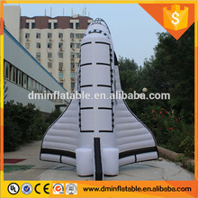 giant customized design inflatable space shuttle