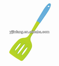 Silicone kitchen tool Silicone cooking turner/slotted spatula