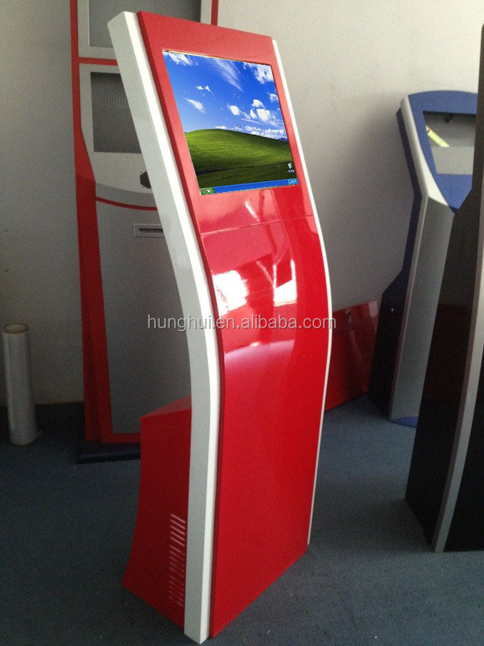 Slim Design Self-service Interactive Kiosk/Coupon Kiosk