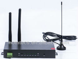 3g wavecom gprs gsm Industrial m2m wireless with dual sim card slot, rj45 port, wan port and dongle router H50 series