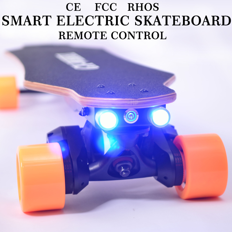 GX-<strong>W</strong> Intelligent Electric Slide Speed Down Board Wireless Remote Control Balance Car Electric Scooter g-wheel skateboard