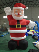 Best sale giant inflatable santa model ,advertising inflatable christmas santa,inflatable santa model for sale