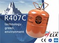 High quality Green R407c Refrigerant High purity r407