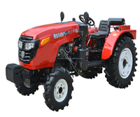New design Luzhong754A 75hp 4x4 Garden Tractor from China
